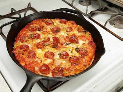 Resepi Pizza Kuali Terbaik!!