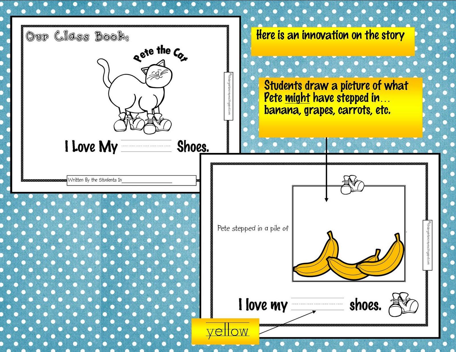 Kindergarten Crayons Change It Up