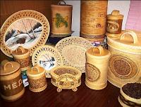 Kerajinan Tangan Dari Bambu sebagai potensi kerajinan berbahan alam di indonesia