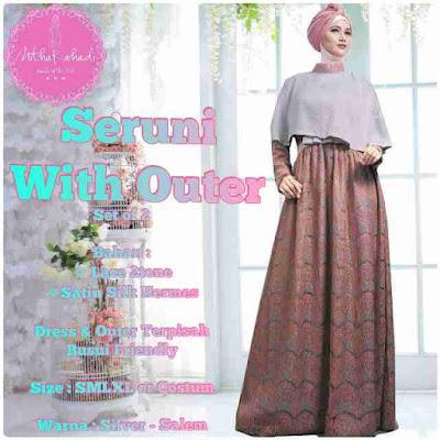 Model Baju Muslim Batik Karenina Modern