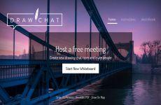 DrawChat: aplicación de pizarra colaborativa online en tiermpo real que incluye chat y videollamadas