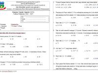 Soal-soal UTS SD/MI Lengkap Kelas 5 Semester 2