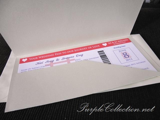 Boarding Pass Travel Wedding Invitation Card, Boarding Pass, Travel, Wedding, Invitation Card, Pink, Plane, Marriage