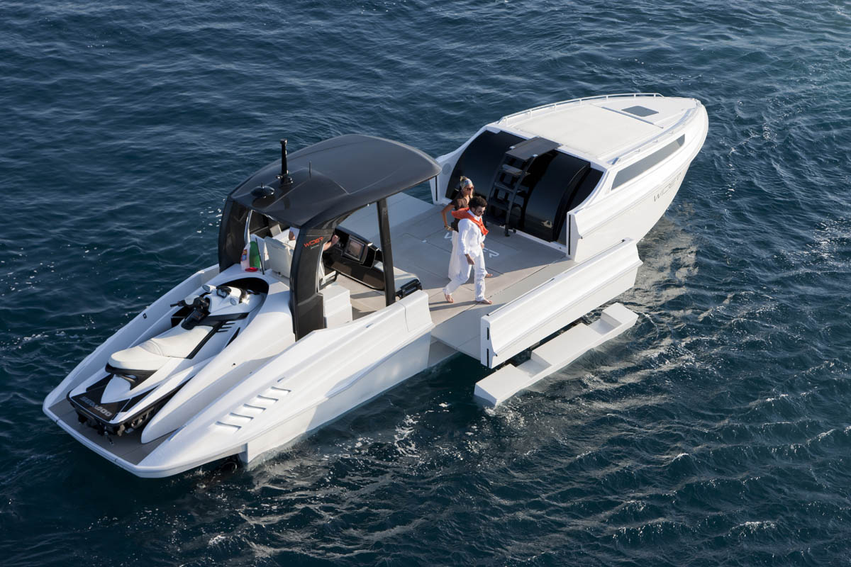 Super Bowl Update: The Expandable Yacht. The Wider 42' and ...