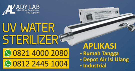 Ady Water Jual Lampu UV Water Sterilizer