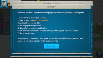 poin penting agar dapat teleport ke server KD baru
