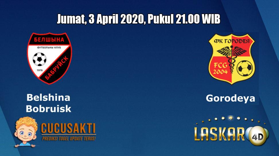 Prediksi Belshina VS Gorodeja 3 April 2020