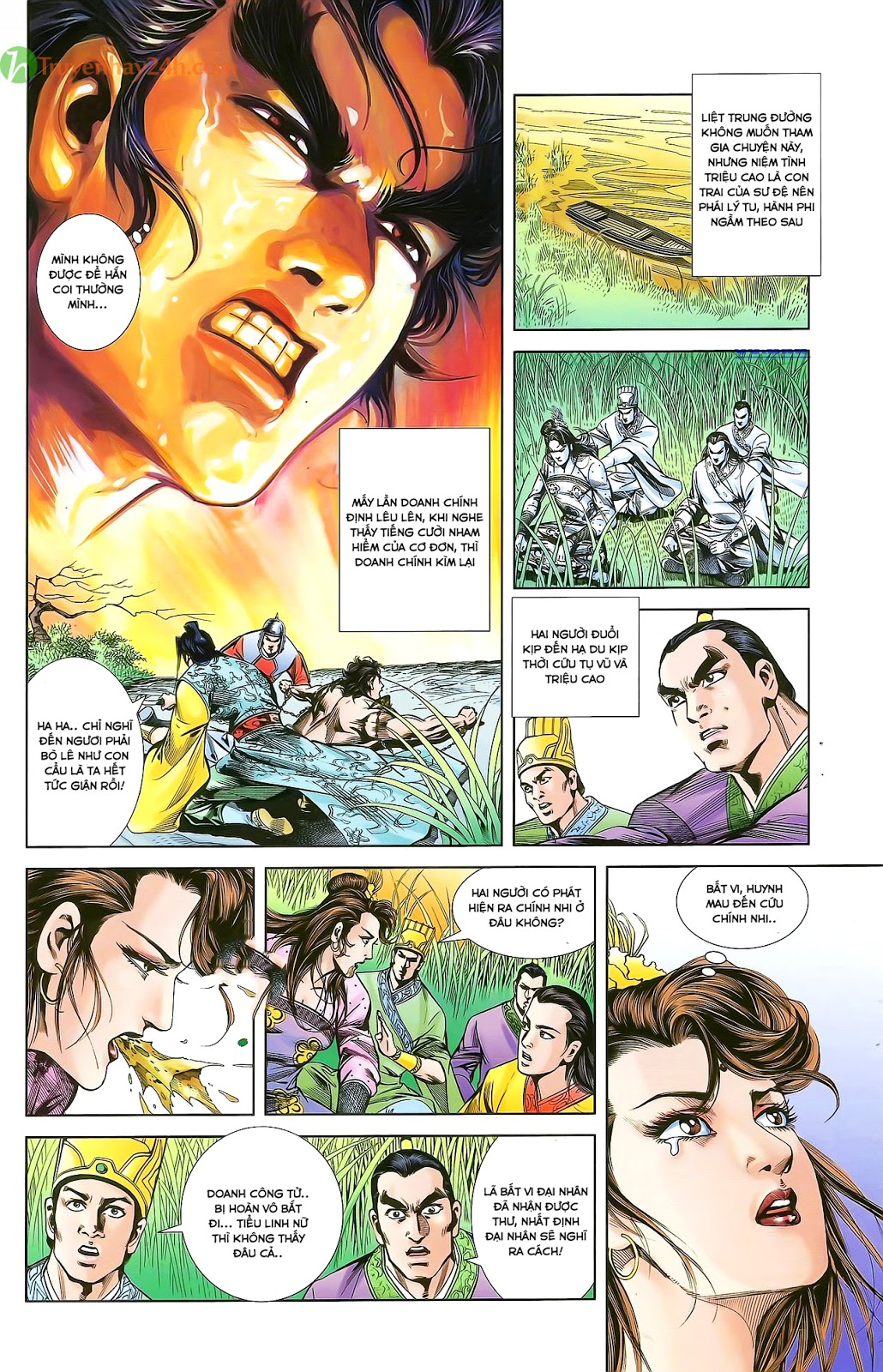 Tần Vương Doanh Chính chapter 28 trang 20