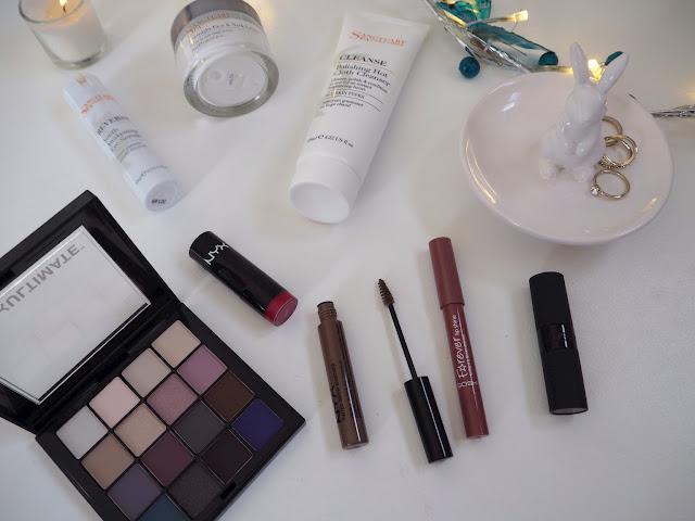Sanctuary Spa, NYX Cosmetics, GOSH Lipsticks