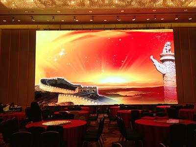 Đơn vị thi công màn hình led p2 trong nhà tại Hải Phòng
