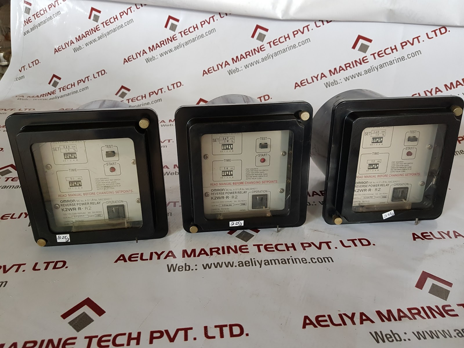 OMRON K2WR-R-R2 REVERSE POWER RELAY | AELIYA MARINE TECH PVT LTD
