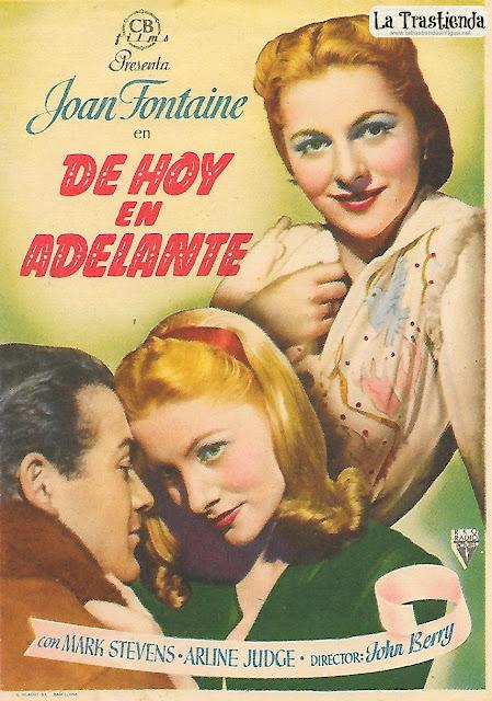 De Hoy en Adelante - Programa de Cine - Joan Fontaine - Mark Stevens