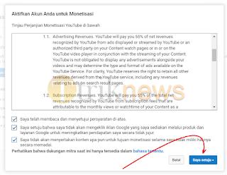 Cara Menampilkan Iklan Adsense di Youtube