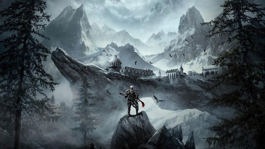 The Elder Scrolls Online Greymoor, Fantasy, Game, Scenery, 4K, #4.3228