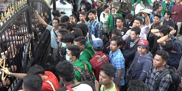 Aksi Berlanjut, HMI Kota Medan Beri Rapor Merah Pemerintahan Jokowi