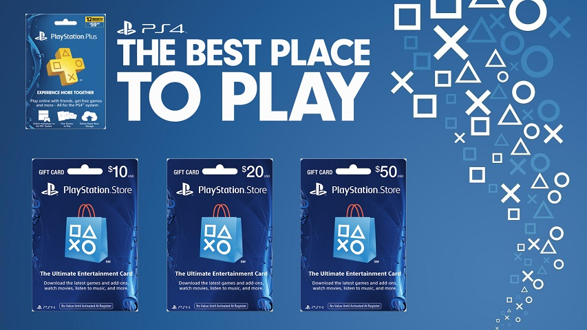 PLAYSTATION NETWORK GIFT CARDS