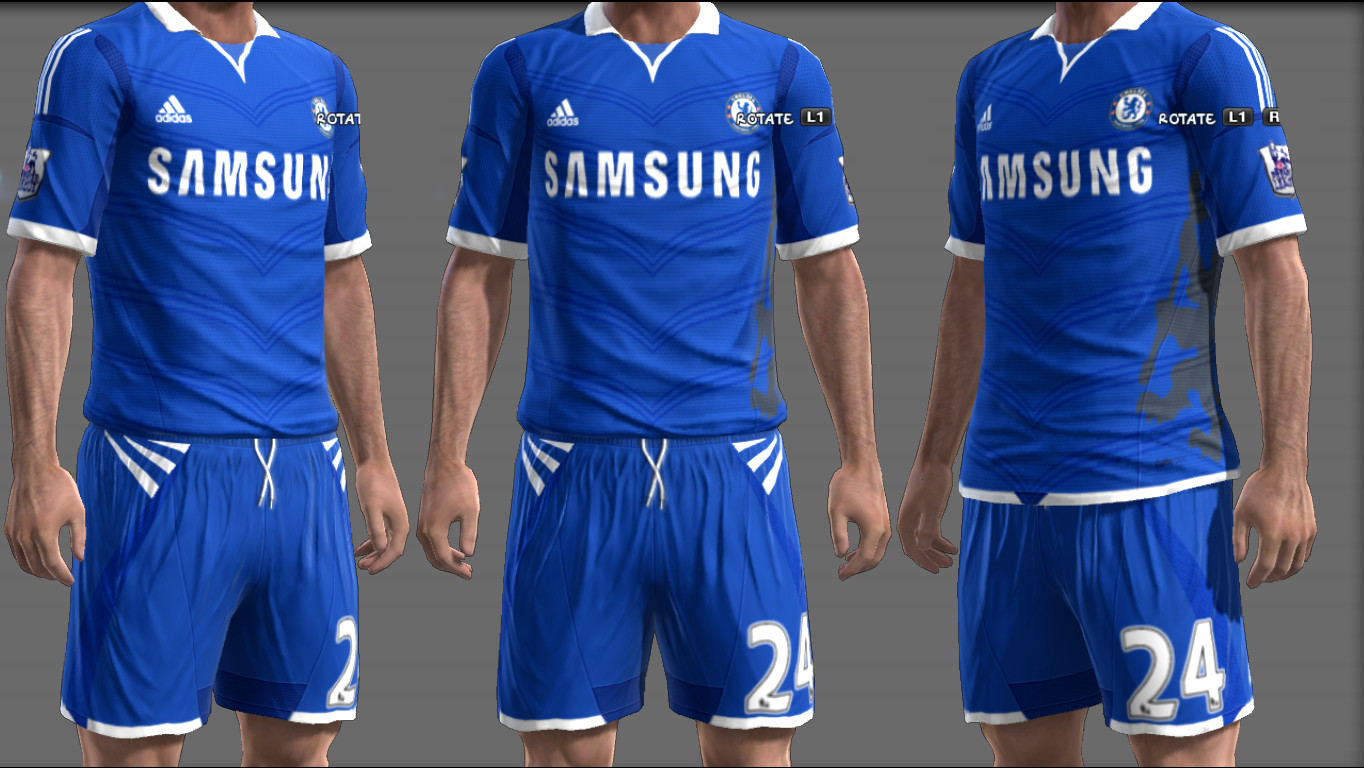 Pes-modif: Download Fantasy Kits Chelsea PES 2013 By Ginda01