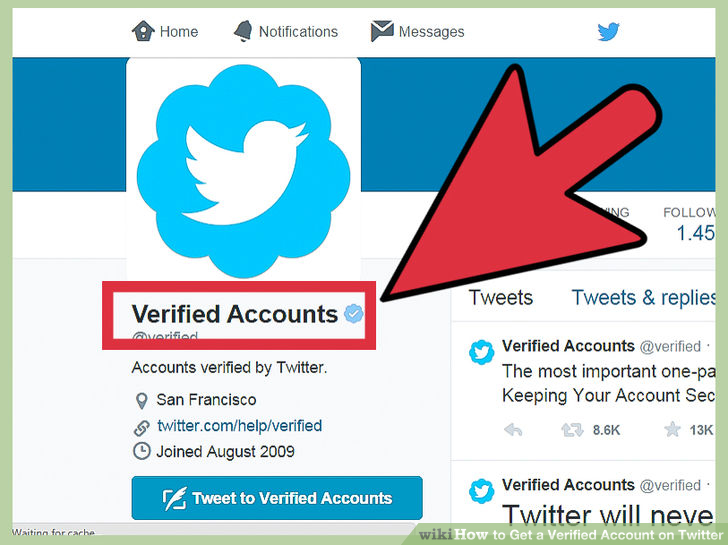 Why You Should verify your Twitter account