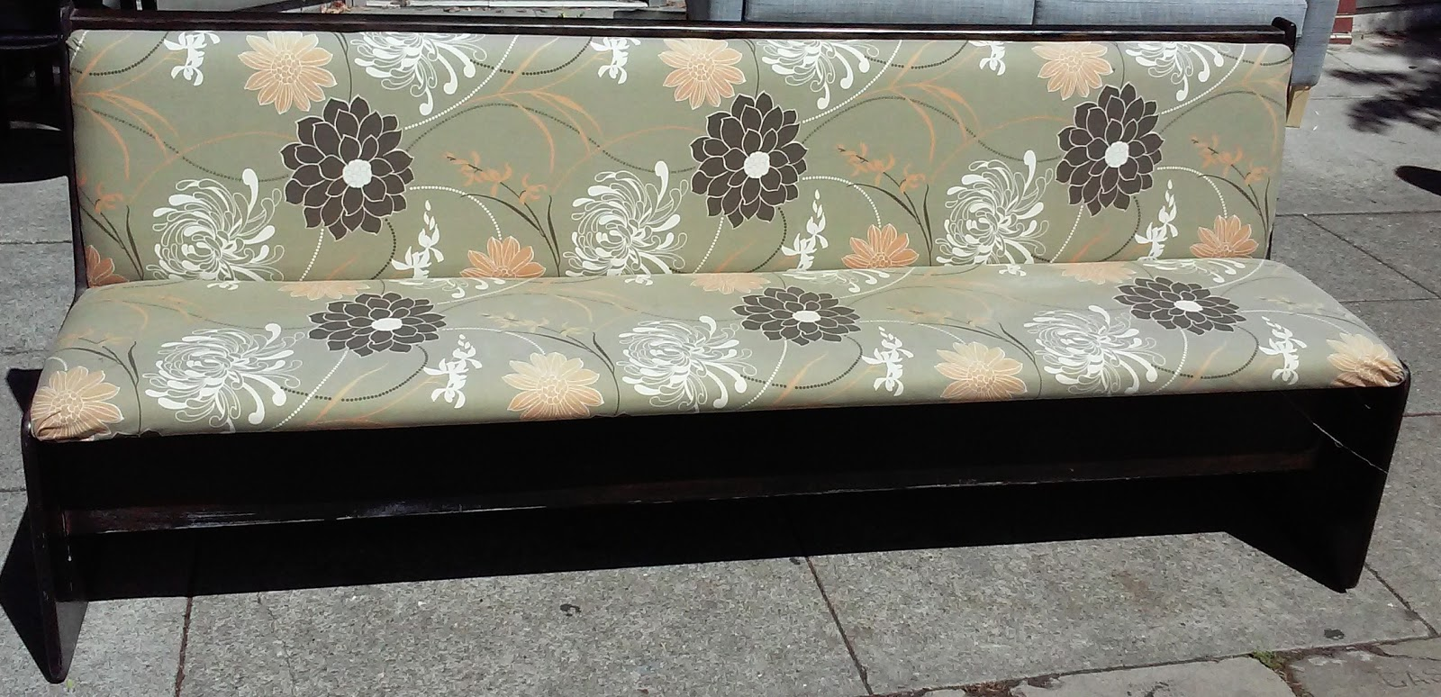 Groovy Uhuru Furniture Collectibles Sold 1785 80 Church Pew Caraccident5 Cool Chair Designs And Ideas Caraccident5Info