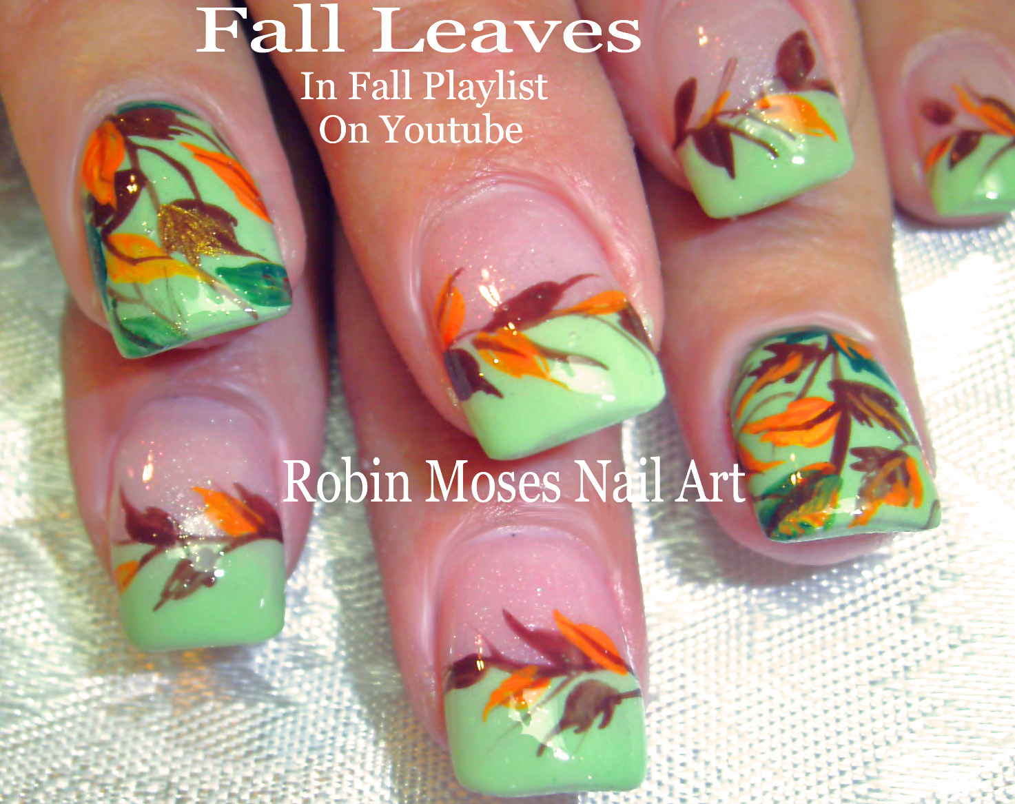 Nail Art by Robin Moses: Fall Nails | Easy Autumn Nail Art Design ...