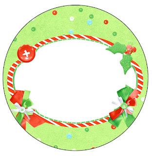 Flores de Navidad: Wrappers y Toppers para Cupcakes para Imprimir Gratis.