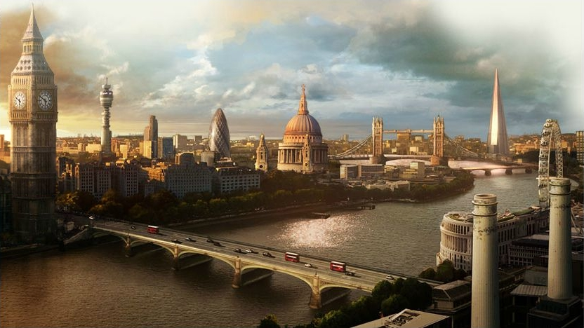 London, idealised and stylised