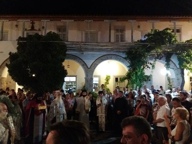 Στους εορτασμούς των Αγίων Αναργύρων στην Ερμιόνη παρευρέθηκε ο Γιάννης Γκιόλας