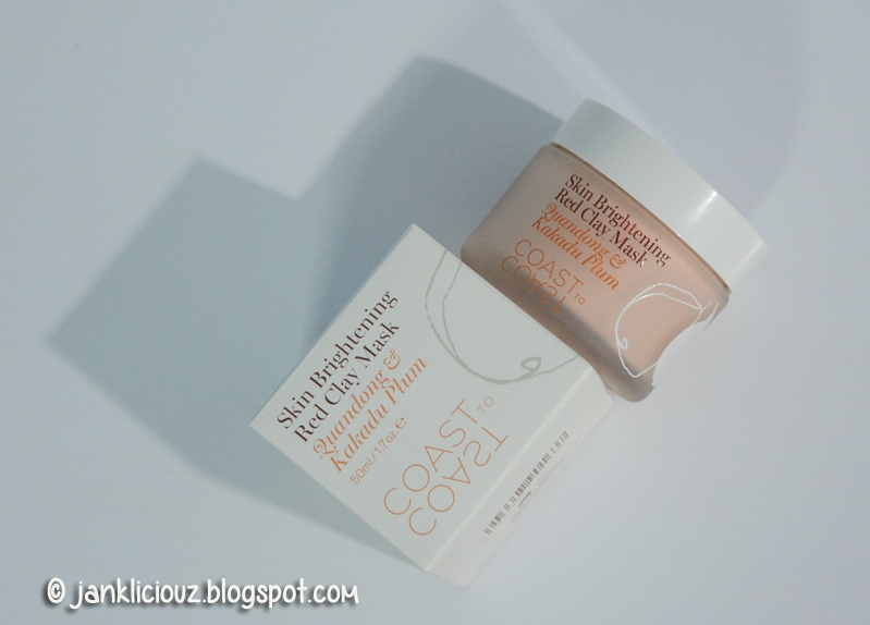 Coast to Coast's Outback Skin Brightening Red Clay Mask