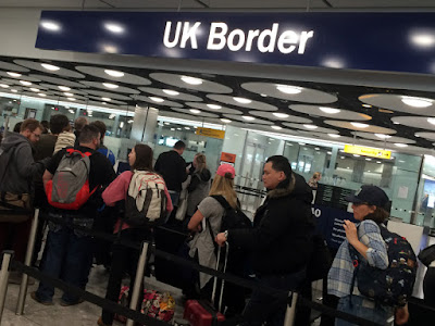 Long Lines at UK Customs – Short On Staff