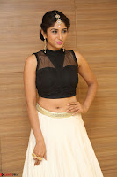 Roshni Prakash in a Sleeveless Crop Top and Long Cream Ethnic Skirt 028.JPG