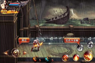 Download Game Android God Of War Mobile Edition v1.0.1 MOD Apk (Unlimited Coins & Souls)