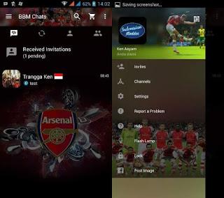BBM MOD Arsenal V2.12.0.9 Apk