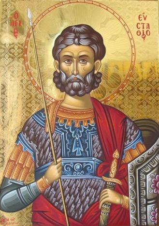 Αποτέλεσμα εικόνας για Ο Άγιος Ευστάθιος ο Μεγαλομάρτυς