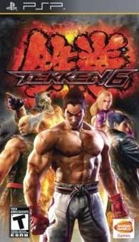 Download Tekken 6 PPSSPP Android