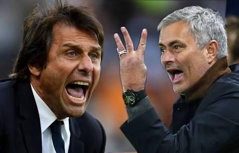 "You're a ""little man'', Conte tells Mourinho"