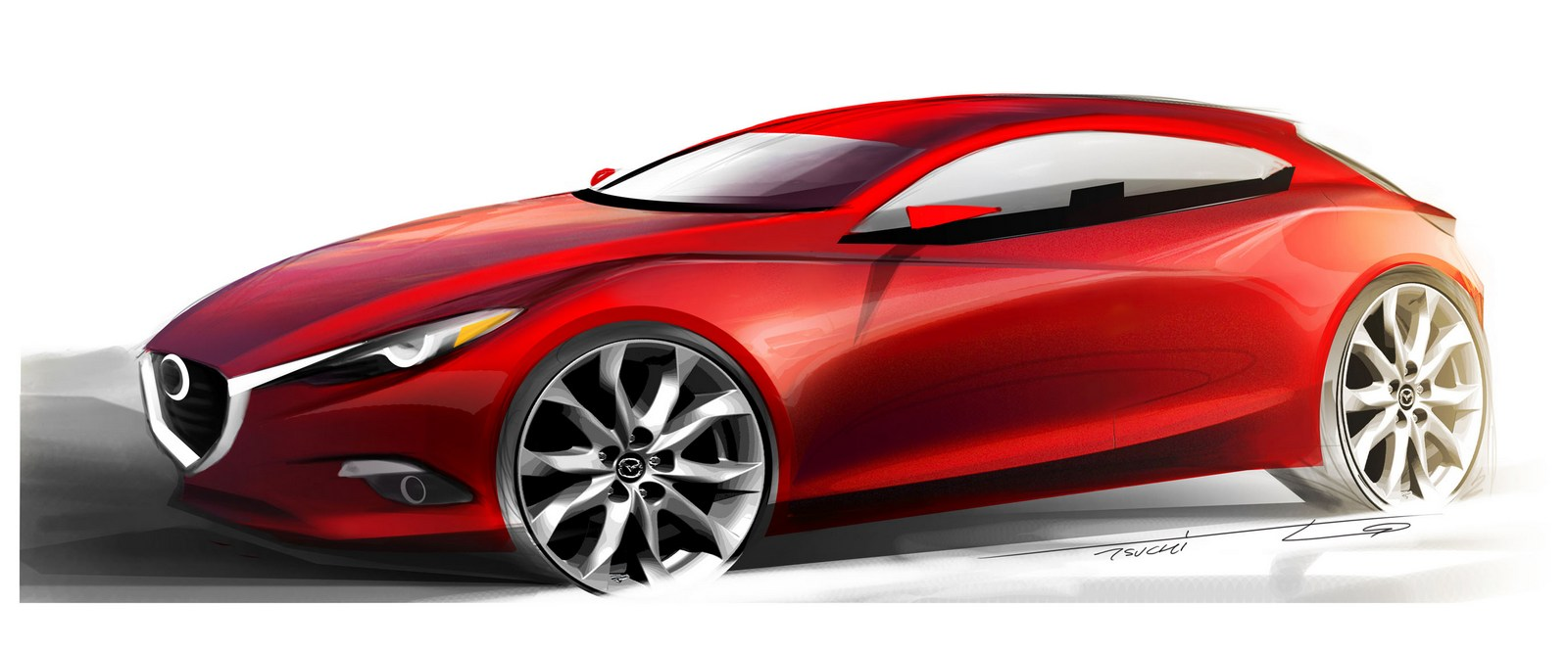 mazda3 concept reportedly headed to tokyo with an hcci engine