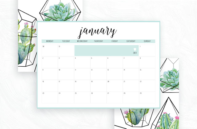 Free Printable Irma 2017 Monthly Calendars & Planners // Eliza Ellis. Available in 6 colors and in both A4 and A5 sizes. Daily and weekly diaries and planners also available.