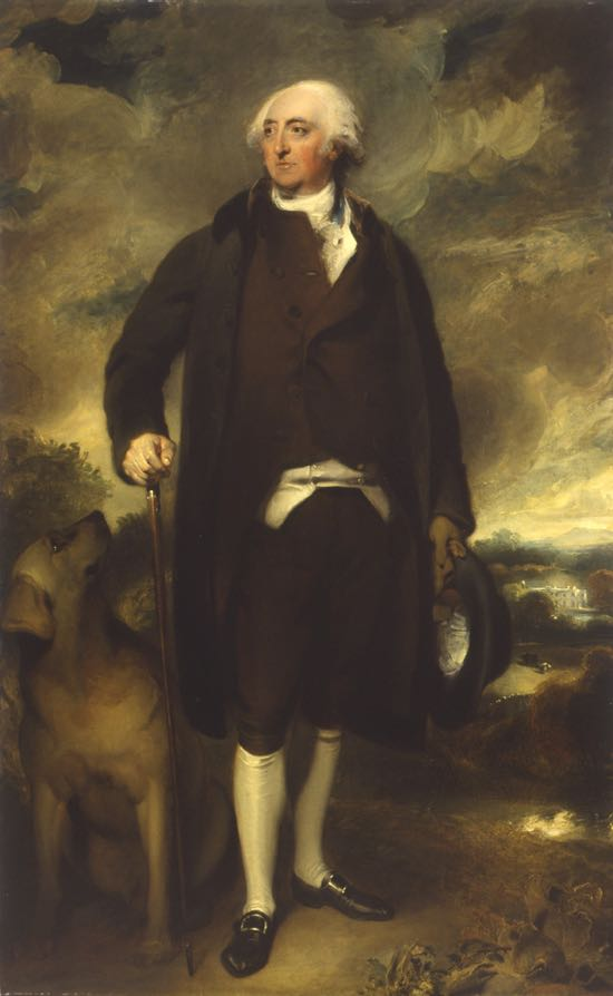 Portrait of John Hunter of Gobions, by Sir Thomas Lawrence (1789/90). Reproduced by kind permission of Musée des Beaux-Arts, ville de Bordeaux. Image courtesy of L. Gauthier, F. Deval.