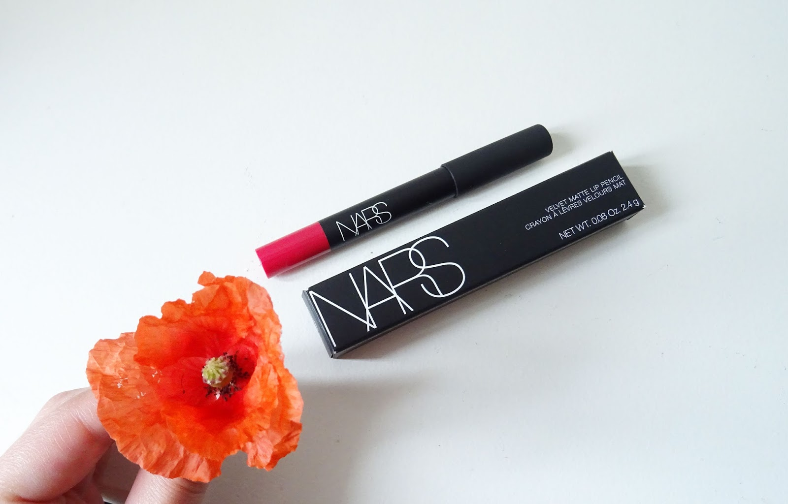 Velvet Matte Lip Pencil Nars Let's go crazy