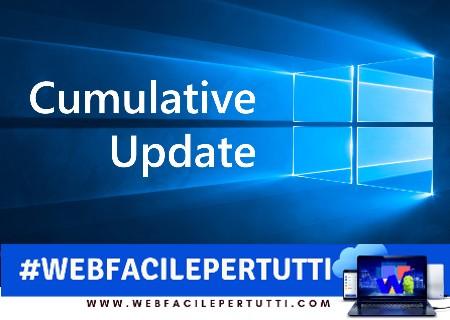 Windows 10 | Disponibile un terzo aggiornamento cumulativo di novembre 2018