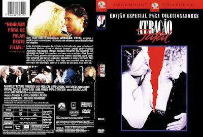 Filme Atração Fatal (Fatal Attraction) DVD Capa