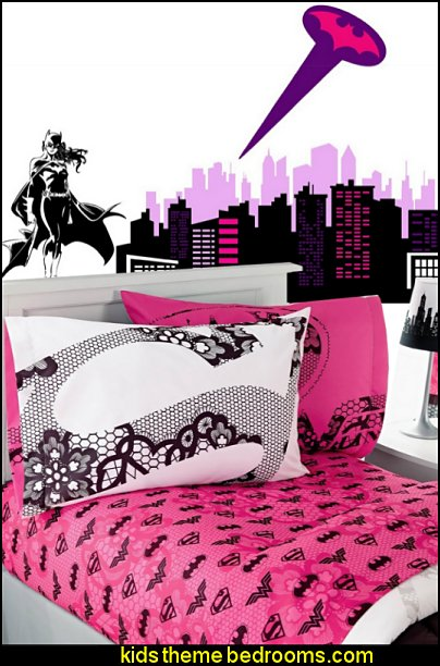 batgirl bedding batgirl wall decal mural stickers