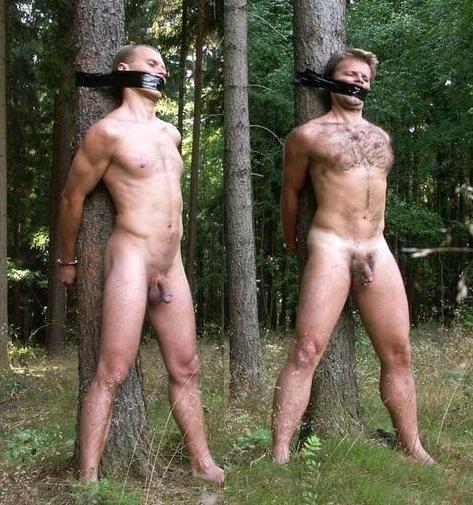 Gay Bondage Outdoor