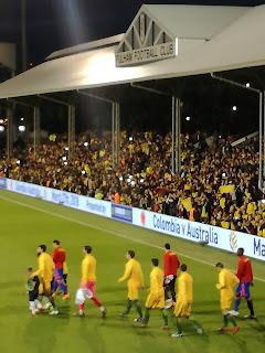 Australia v Colombia