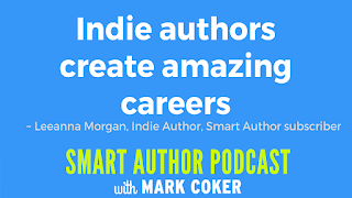 "image reads:  ""Indie authors create amazing careers"""