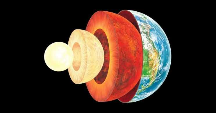 Dünyanın çekirdeği en az güneş kadar sıcaktır, bunun nedeni çekirdeğin de güneşin bir parçası olmasıdır.