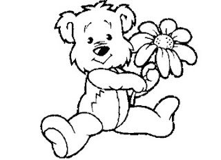Teddy-Bear-Coloring-Page