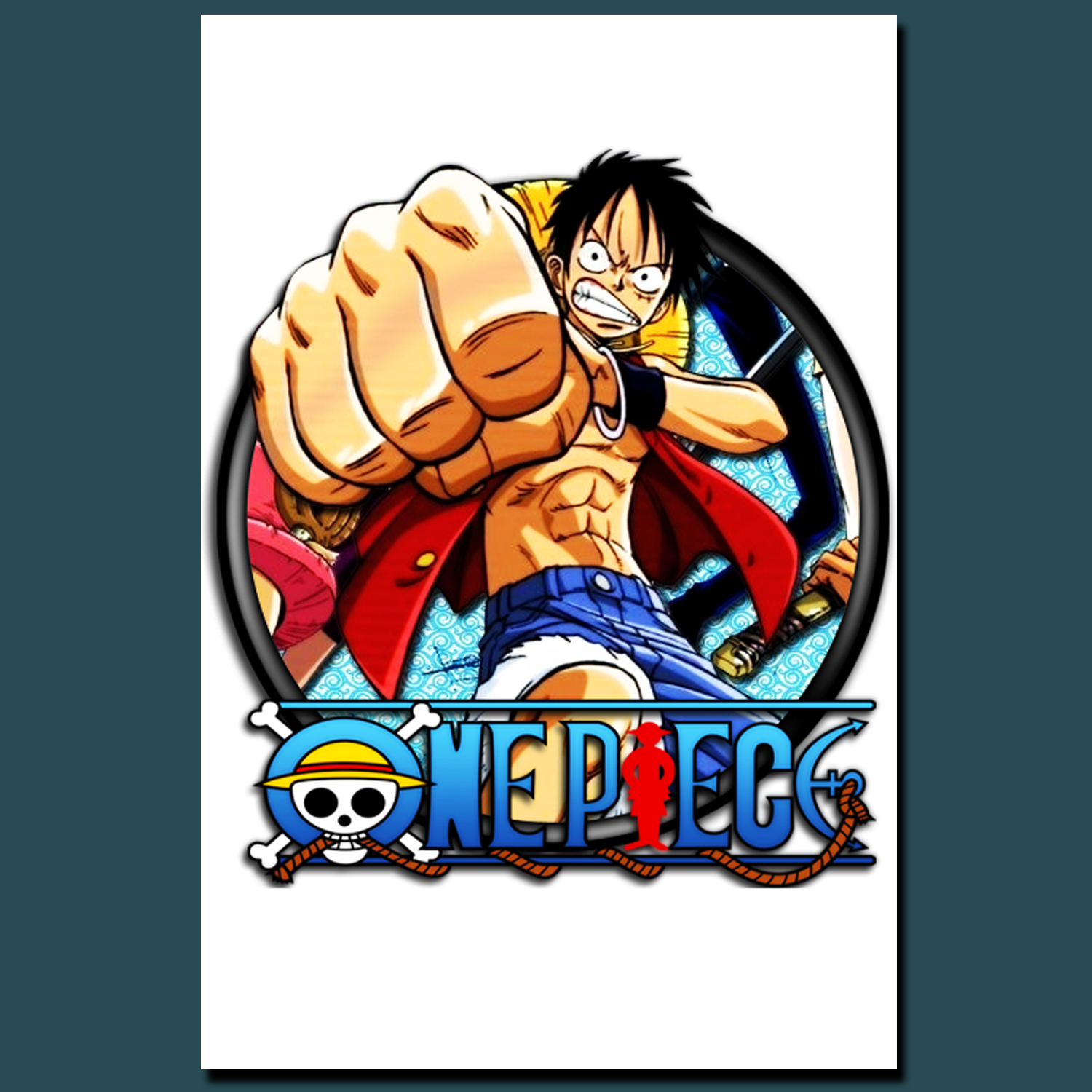 POSTER, POSTER CUSTOM ONE PIECE