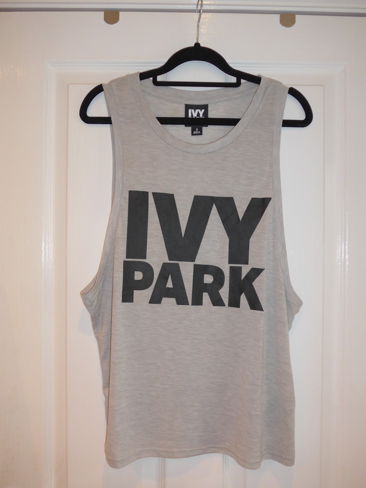 4b4999b2fc74d TOPSHOP: Ivy Park Haul. 30 April 2016. Drop Armhole Tank