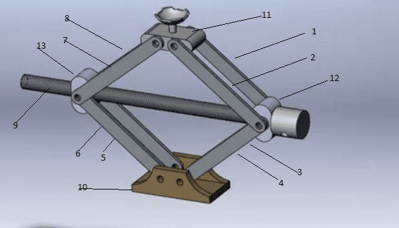 Design Catia Model Of Toggle jack